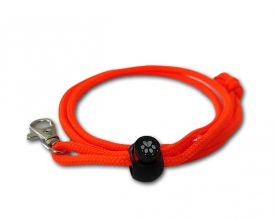 Whistle lanyard nylon orange in the group The dog / Puppy kit / Whistles & lanyards at PAW of Sweden AB (2203O)