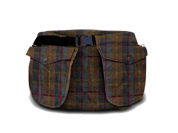 Picking-up belt Classic waxed cotton tweed in the group Hunting / Picking-up vests/Belts / Belt waxed cotton at PAW of Sweden AB (6002TW)