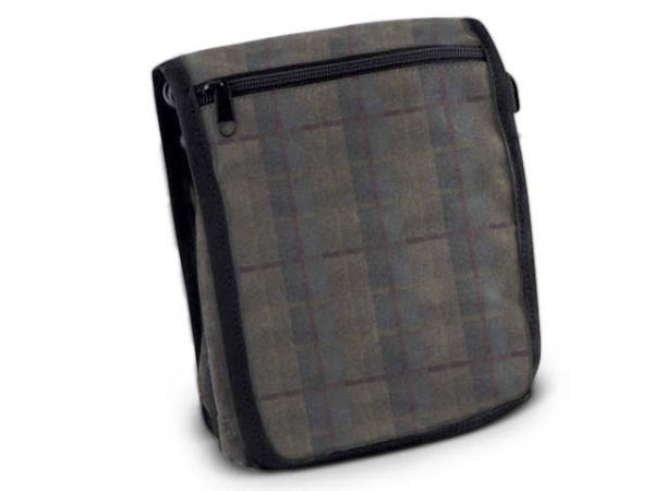 PAW of Sweden´s Messenger Bag Classic waxed cotton tweed in the group The Handler / Hunter / Game bags/Bags and more / Messenger bags at PAW of Sweden AB (606TW)