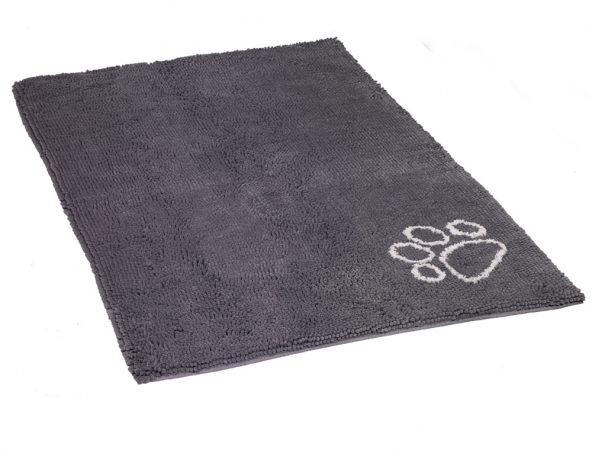 Soggy Doggy ® doormat grey XL in the group The dog / The puppy / Beds/Soggy Doggy at PAW of Sweden AB (671027)