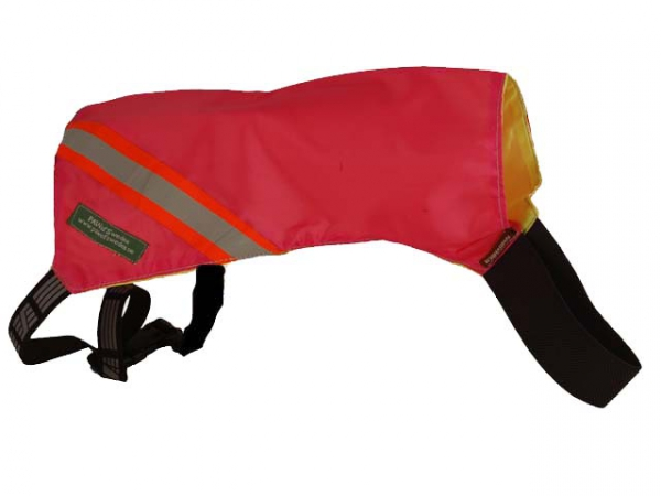 Reflective vest cerise/yellow in the group Hunting / Coats/Vests/Protection / Reflective vests at PAW of Sweden AB (702CYR)
