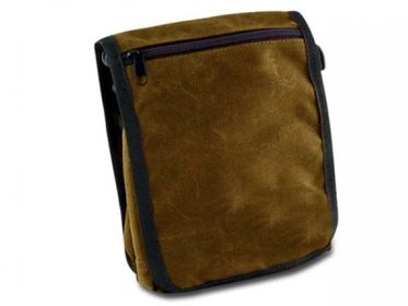 Paw Of Sweden 180 S Messenger Bag Classic Waxed Cotton Nougat