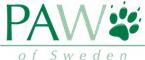 """° ° Paw of Sweden – """"Designade produkter för arbetande hundar och aktiva människor."""" Sponsrar Team Hjerpviken under SM i Barmarksdrag 2014"""